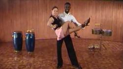 Обучение сальса акробатике - 2 видео